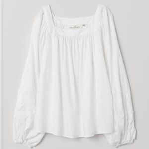 H&M embroidered top